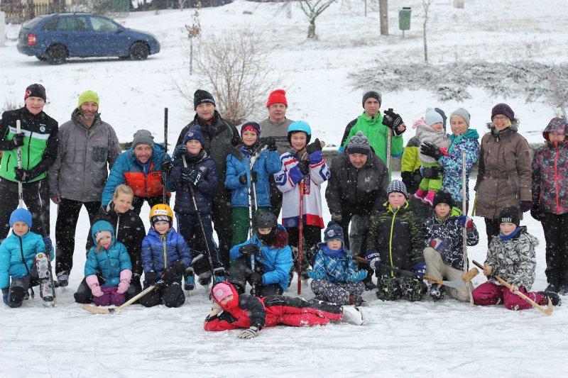 Zimní trénink dětí