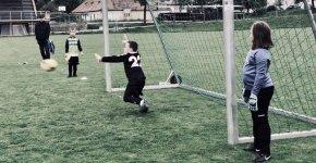 Mladší přípravka střílela góly jako o život, ale na výhru to nestačilo